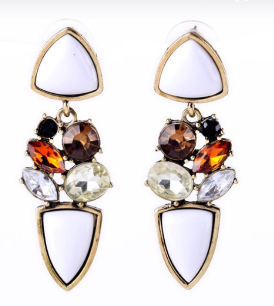 'Wilhelmina Slater' | Earrings - Wardrobe Wilderness