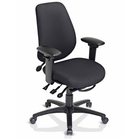 geoCentric Tall Back Multi Tilt Ergonomic Office Chair [ergonomics] - fitzBODY.com