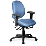 geoCentric Mid Back Multi Tilt Chair [ergonomics] - fitzBODY.com