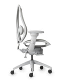 tCentric Hybrid Ergonomic Office Chair - All Mesh Grey Frame