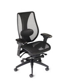 tCentric Hybrid Ergonomic Office Chair - All Mesh Black Frame