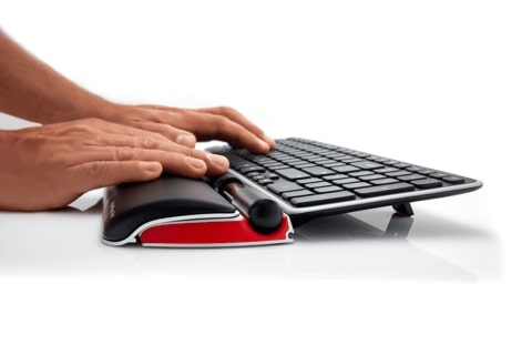 Ultimate Workstation Red Bundle | RollerMouse Red + Balance Keyboard