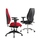 airCentric Ergonomic Office Chair - Black Frame
