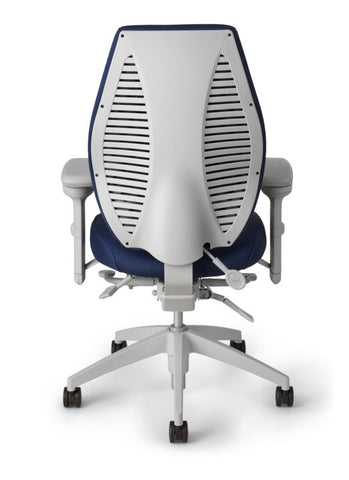airCentric Ergonomic Office Chair - Grey Frame [ergonomics] - fitzBODY.com