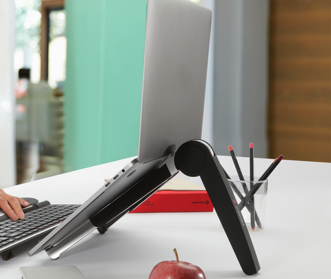 World's Most Compact Laptop Stand