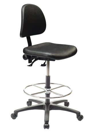 Ergo C 200 Std Polyurethane Chair with Footring