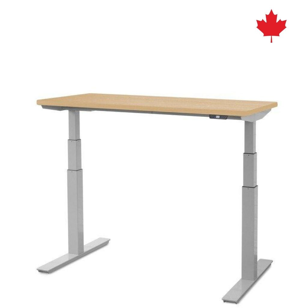 "Electric Sit Stand Desk 48"" wide x 24"" deep UP-2LV 