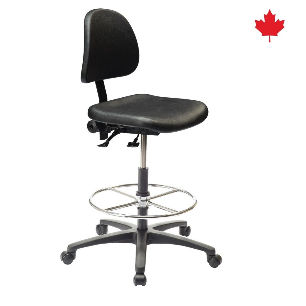 Industrial Polyurethane Chair with Footring | Ergo C 200 Std