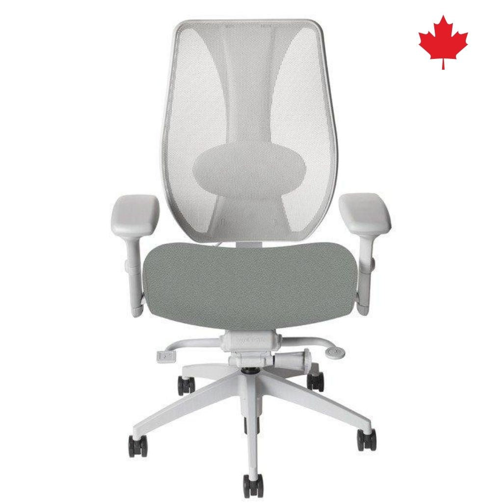 tCentric Hybrid Synchro Glide - Grey Frame & Upholstered Seat