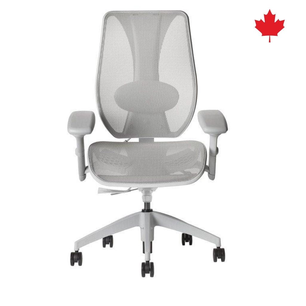 tCentric Hybrid Synchro Glide -Grey Frame & All Mesh Seat/Back