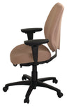 geoCentric Mid Back Multi Tilt Ergonomic Office Chair [ergonomics] - fitzBODY.com