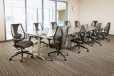 tCentric Hybrid Mesh Back Boardroom Chair [ergonomics] - fitzBODY.com