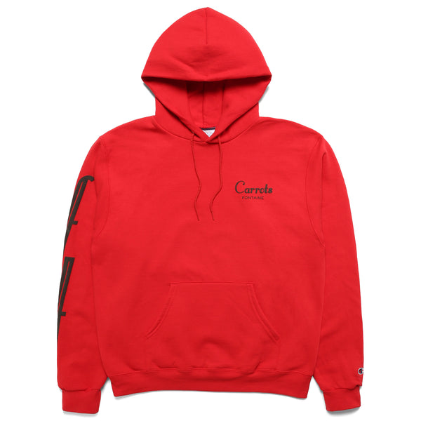 Red Carrots Fontaine Champion Hoodie