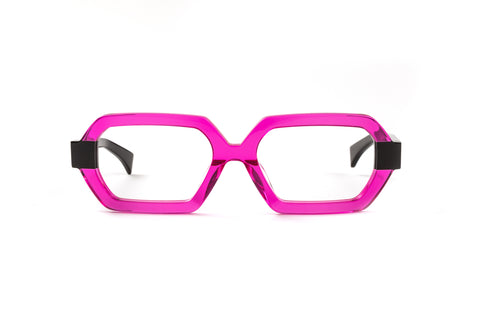 Wild Paradise Fuchsia/Black Reading Glasses
