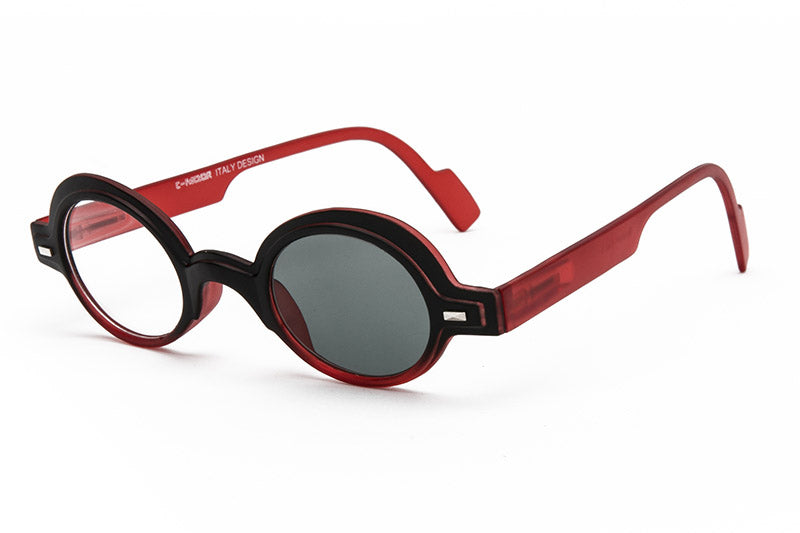 bb853a81ca0 Red John Lennon style glasses and sunglasses