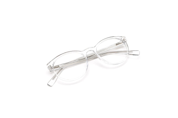 Malibu Crystal Clear Round Reading Glasses