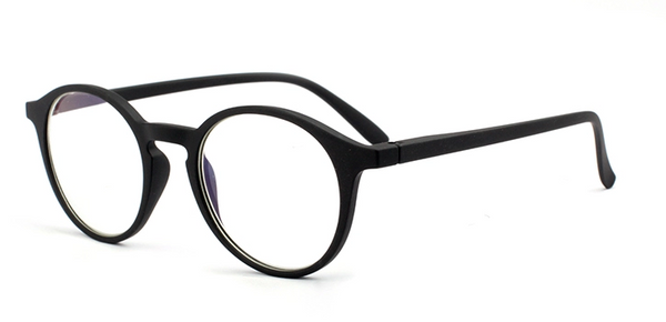 Montauk Black Rubberized Reading Glasses + Blue Light Blocker