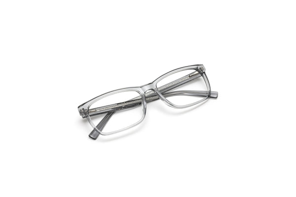 West Palm Crystal Grey Rectangular Reading Glasses