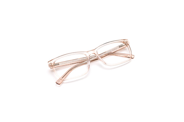 West Palm Crystal Nude Rectangular Reading Glasses