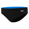 Mens Rush 10cm Brief - Black/Rush Cadet Blue
