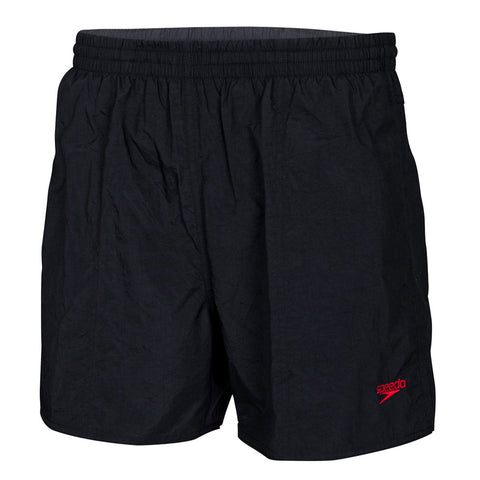 Mens Solid Leisure Short - Black