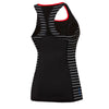 Womens Cross Trainer Power Tank - Black/Limitless/Red