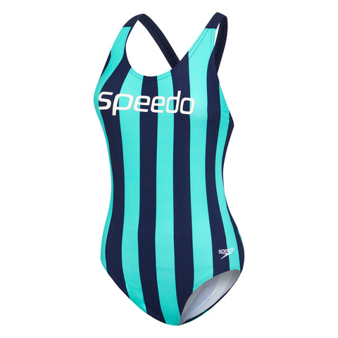 Womens Limitless Leaderback - Limitless Inca/Speedo Navy