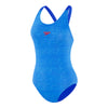 Womens Endurance Leaderback - Marl Lines/Beautiful Blue