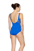 Womens Panama Scoopback - Vision Stripes/Beautful Blue