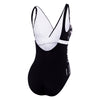 Womens Panama Scoopback - Active/Black/White