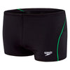 Boys Endurance Logo Aquashort - Black/Speed/Vine