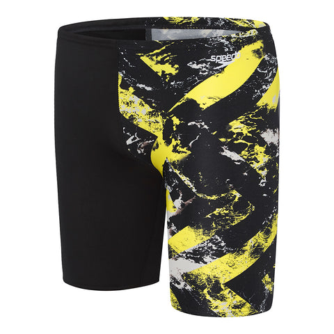 Boys School Colours Jammer - Marigold Wave