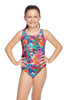 Girls Primitive Flower Leaderback One Piece