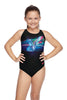 Girls Crossback One Piece - Flying Glitch