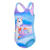 Toddler Girls Llama Corn One Piece