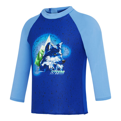 Toddler Boys Husky Long Sleeve Rashie