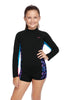 Girls Boyleg Paddle Suit - Vivid Nights