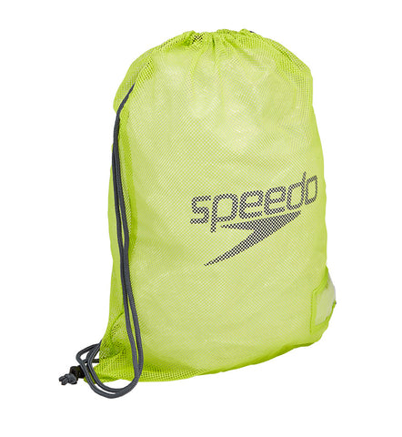 Speedo Mesh Equipment Bag - Oxide Grey/Lime