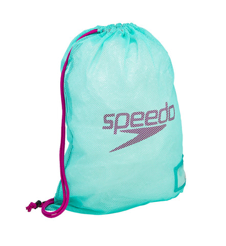 Speedo Mesh Equipment Bag - Spearmint/Diva