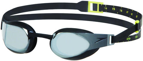 Speedo Fastskin Elite Mirror Racing Goggle - Black/Smoke