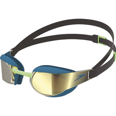 Speedo Fastskin Elite Mirror Racing Goggle - Black/Nordic Teal