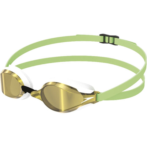 Speedo Fastskin Speedsocket 2 Mirror Goggle - Green Glow/White/Gold
