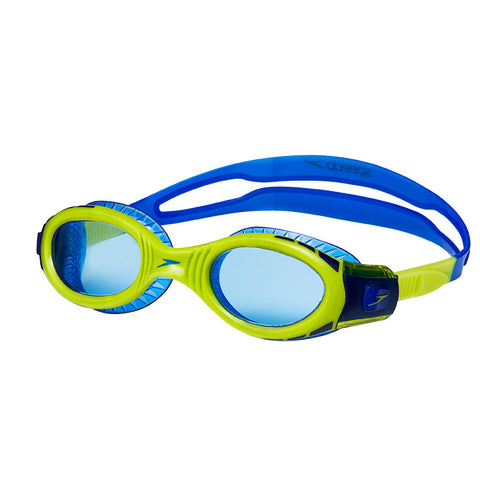 Speedo Junior Futura Biofuse Flexiseal Goggle - Surf/Lime Punch