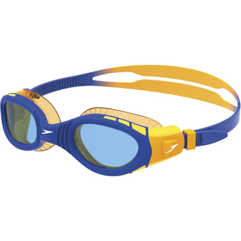 Speedo Junior Futura Biofuse Flexiseal Goggle - Beautiful Blue/Mango