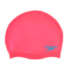 Speedo Junior Plain Silicone Swimming Cap - Assorted Colours