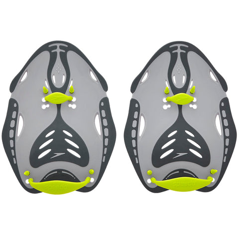 Speedo BioFuse Power Paddle - Oxide Grey/Lime Punch