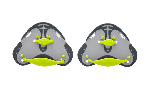 Biofuse Finger Paddle - Oxide Grey/Lime Punch