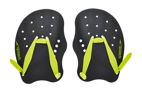 Speedo Technique Paddle - Oxide Grey/Lime