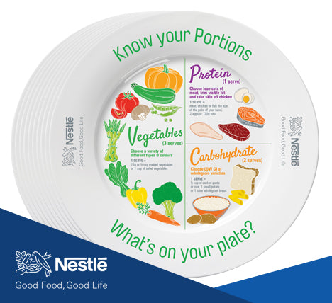 Nestlé Portion Plate pack