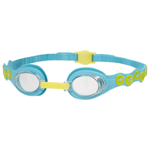 Speedo Junior Sea Squad Spot Goggle - Blue/Yellow